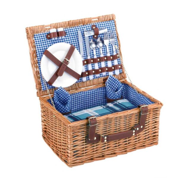 canasta picnic azul ref. jy-2017017 la carreta dorada