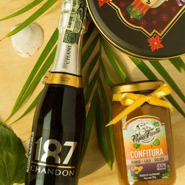 Champagne chandon extra brut la carreta dorada