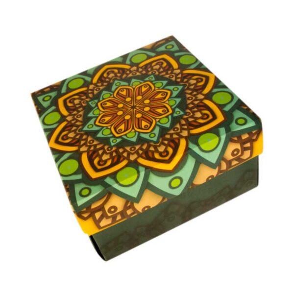 torta envinada caja mandala la carreta dorada