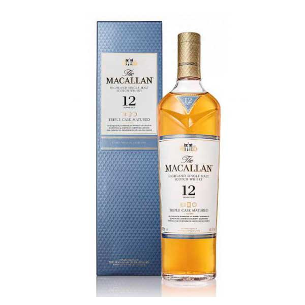 whisky macallan double cask 12 años 700ml la carreta dorada