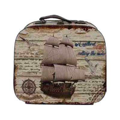 maleta vintage barco la carreta dorada