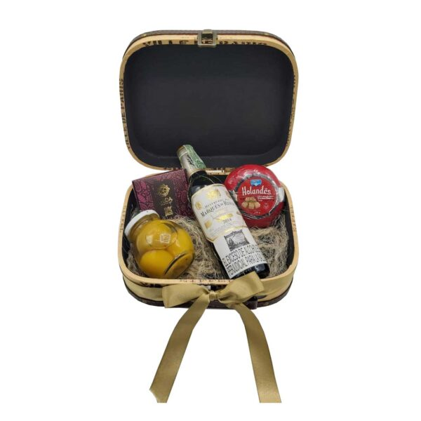 chocolate mida maleta paris la carreta dorada