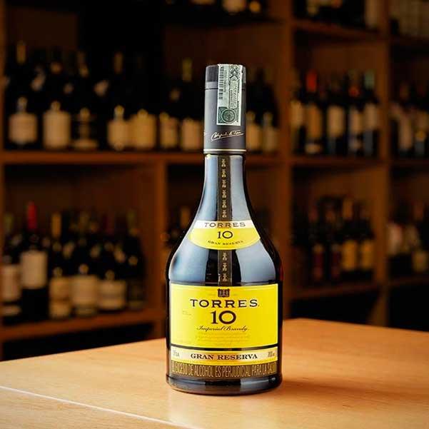brandy torres 10 gran reserva la carreta